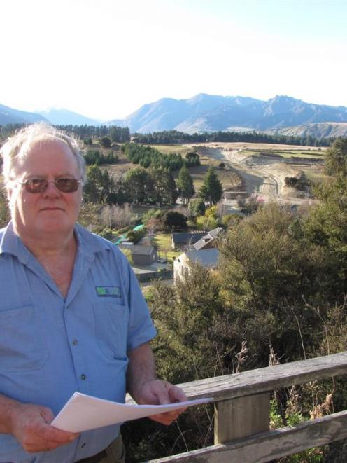 Neil Webster is one of a large number of residents living near Wanaka's proposed Plan Change 45:...