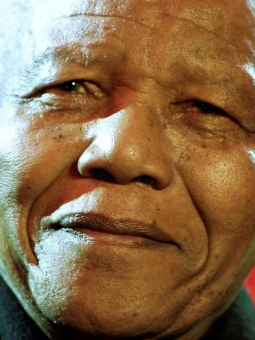 Nelson Mandela. Photo Reuters