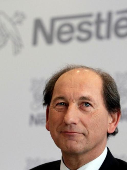 Nestle Chief Executive Officer Paul Bulcke. REUTERS/Denis Balibouse