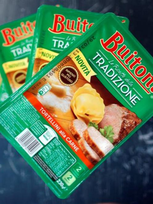 Nestle has removed beef pasta meals sold under its Buitoni brand from sale in Italy and Spain...