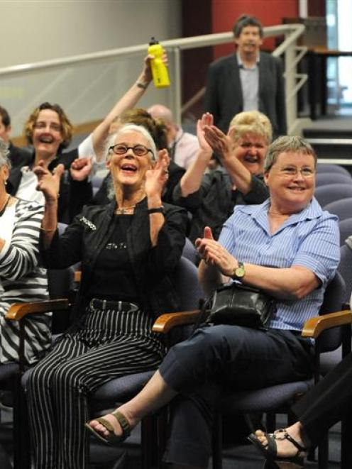 Neurosurgery campaign supporters (from left) Kate Burton, Jane Nimmo, Barbara Brinsley and...