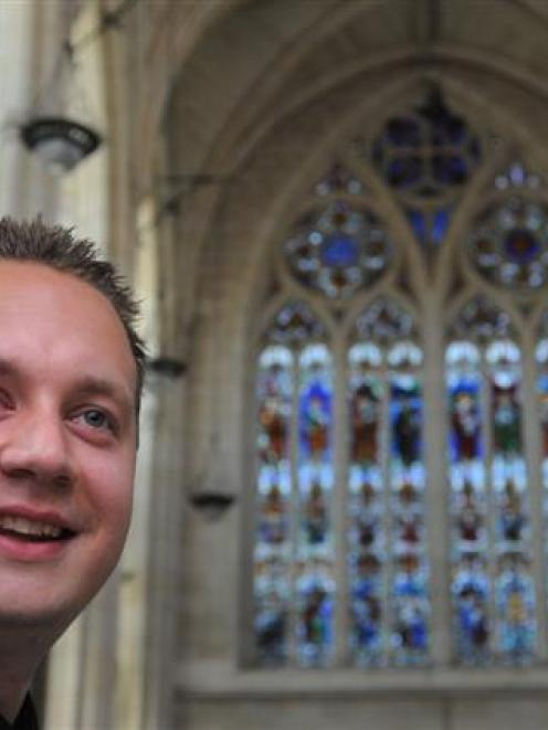 New director of music at St Paul's Cathedral George Chittenden loves the  special character of...