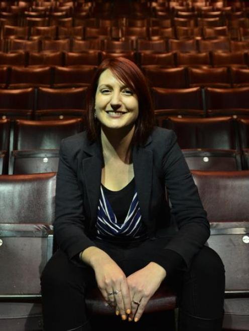 New Fortune Theatre general manager Jennifer Thompson.