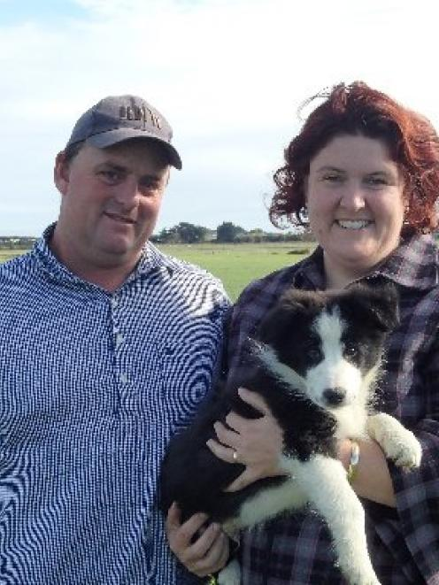 New Zealand Dairy Industry Award (NZDIA) Southland judges  Amy and Graeme Johnston, of Underwood,...