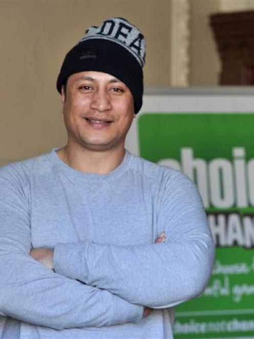 New Zealand hip-hop star Scribe visited Dunedin yesterday to talk to youth about gambling harm,...
