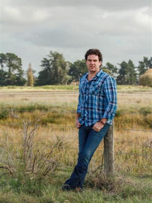 New Zealand Merino Co commercial manager and country music performer Craig Adams. Photo by Kim...