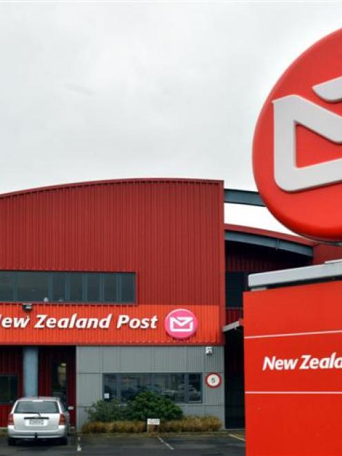 New Zealand Post's Strathallan St mail-processing centre in South Dunedin. Photo by Gerard O'Brien.