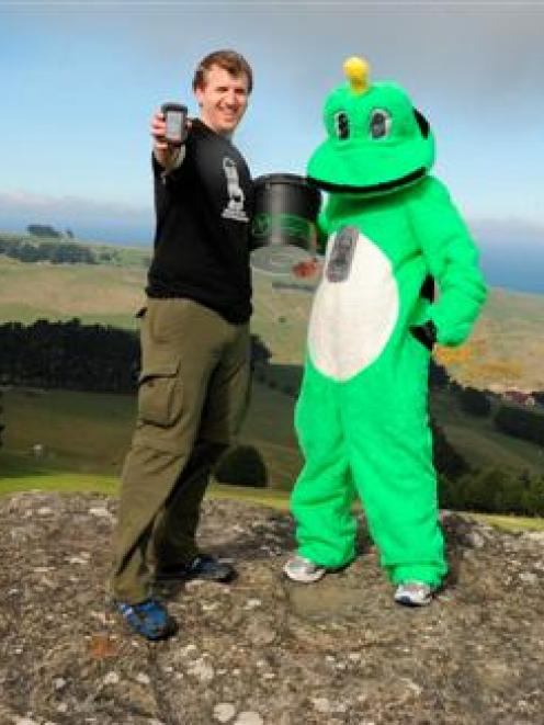 New Zealand Recreational GPS Society president Peter Walker and the global geocaching community...