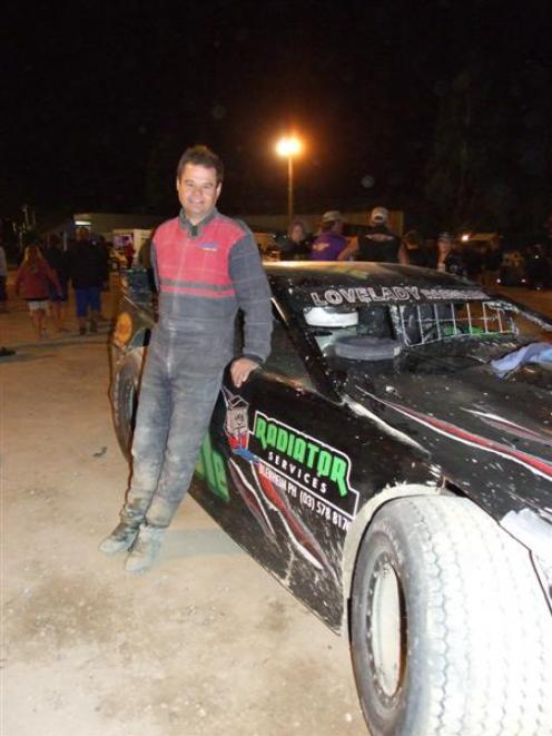 New Zealand Saloon Car champion Rob Flood, of Blenheim, said the adrenaline was still pumping an...