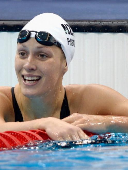 New Zealand swimmer Sophie Pascoe.