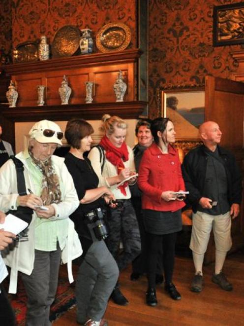 New Zealand travel writers (from left) Jane Jeffries, Judith Doyle, Caroline Crick, Ashleigh...