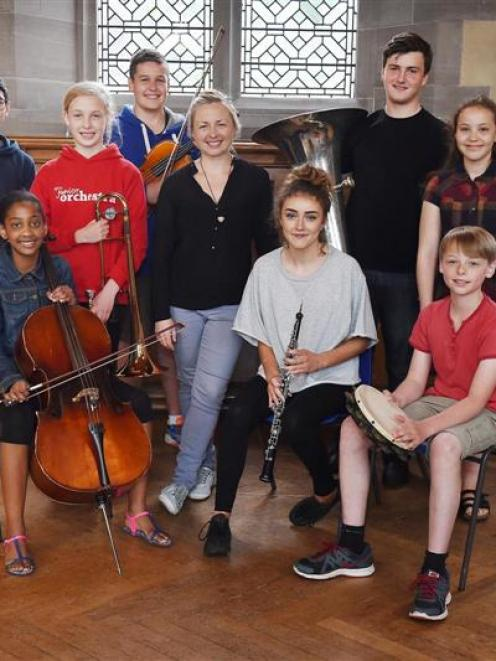 Newly appointed conductor of the National Youth Orchestras of Scotland Junior Orchestra, Holly...