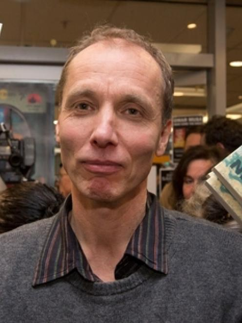 Nicky Hager. Photo by NZ Herald