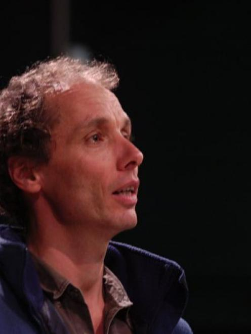 Nicky Hager, who is taking part in Aspiring Conversations at the Southern Lakes Festival of...