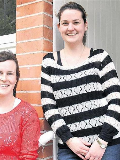 Nicola Shaw and Kerry Short,  are preparing to leave to experience rural medicine abroad. Photo...