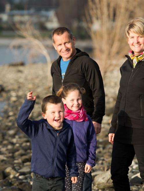 Nicola Simpson is moving from Wanaka to Auckland with her husband, Patrick McAteer, and children...