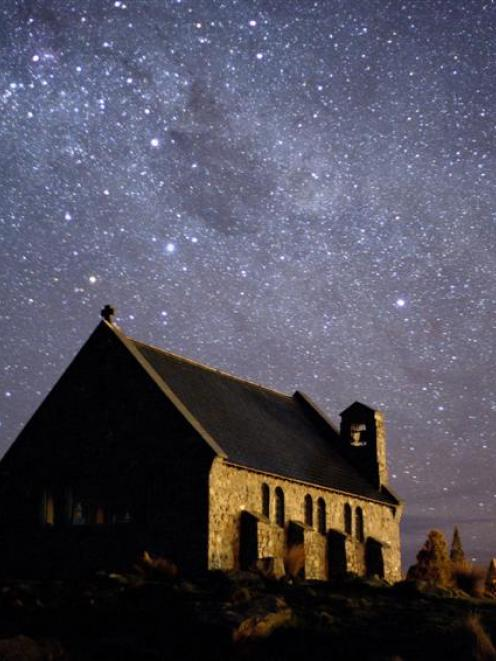 Night sky over the Mackenzie Country. Photo by Fraser Gunn.
