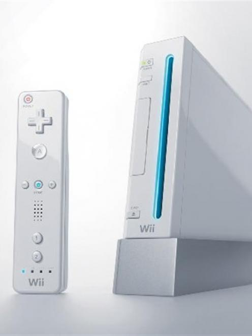 The Nintendo Wii console. Photo supplied.