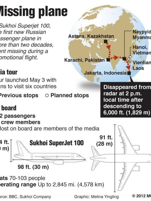 No survivors in Russian jet crash | Otago Daily Times Online