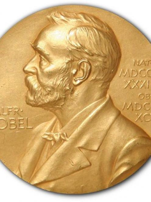 Nobel prize. Photo supplied.
