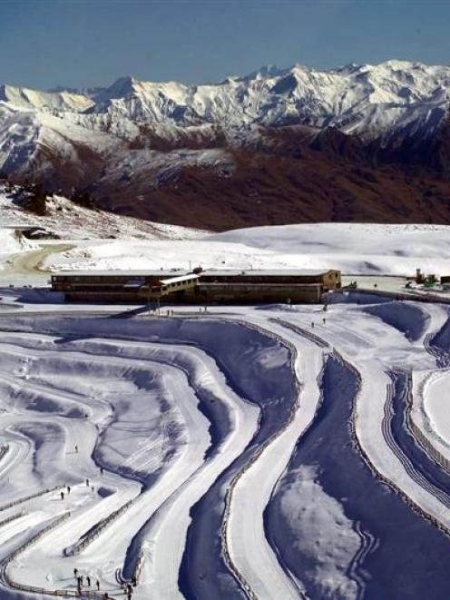 Nordic skiing trails on the Snow Farm, on the Pisa Range. Photo supplied.