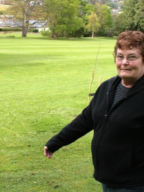 North East Valley resident Kathy Murphy strolls through Chingford Park. She hopes that Otago...