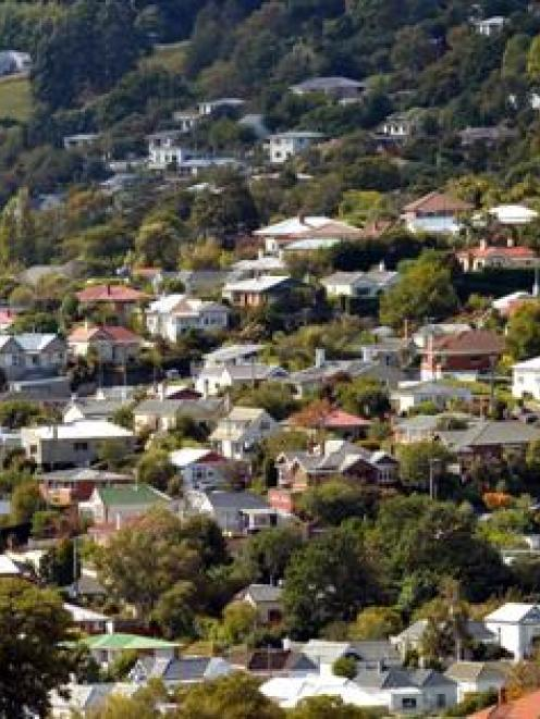 Northeast Valley in Dunedin yesterday, where there is a 7% gross rental yield on houses valued at...