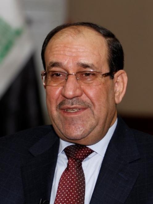 Nuri al-Maliki. Photo Reuters