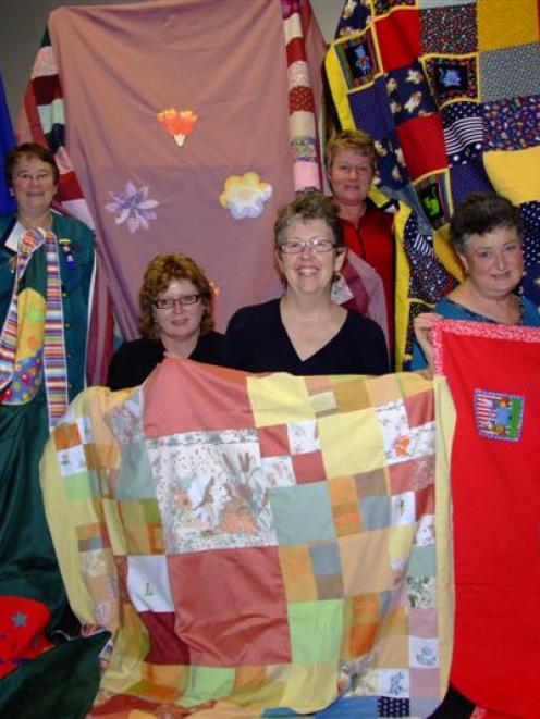 Oamaru Altrusa Club members (from left) Helen Newlands, Cara Flint, Pam Balcombe, Sue Duthie,...