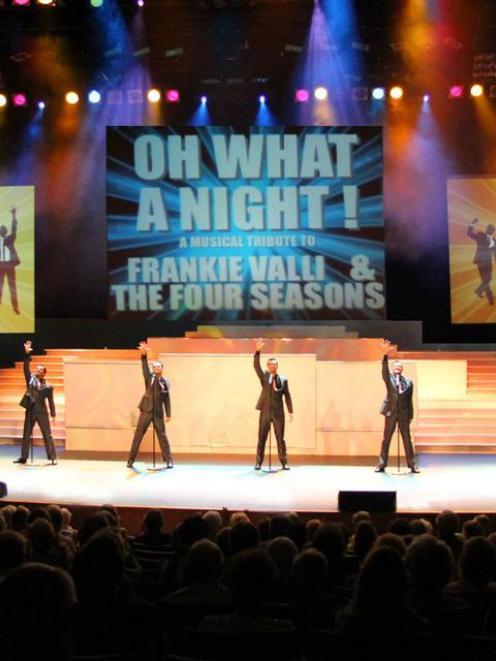 Oh What A Night!: A Musical Tribute to Frankie Valli and the Four Seasons recalls the band's hits...