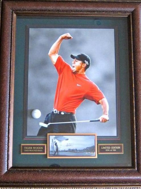 One-of-a-kind and limited edition golfing memorabilia will be among the many items offered  for...