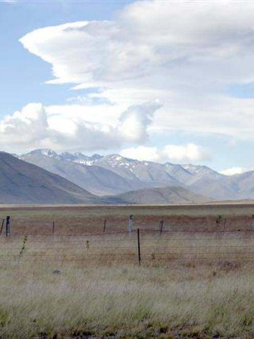 One of the areas earmarked for dairy-farm development in the upper Waitaki - Five Rivers on Lake...