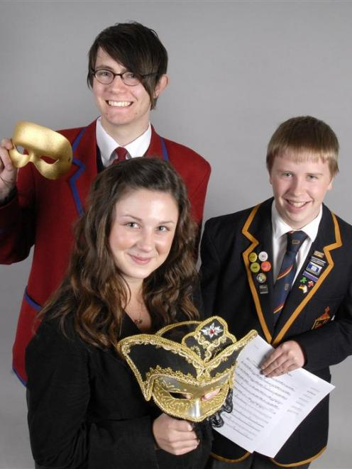 top-scoring Trinity Guildhall grade 5 speech and drama examination students Ted Greensmith-West ...
