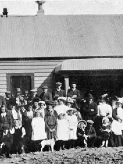 Opening of the Browns Co-operative Dairy Factory, Southland, on October 12. - Otago Witness, 6.11...
