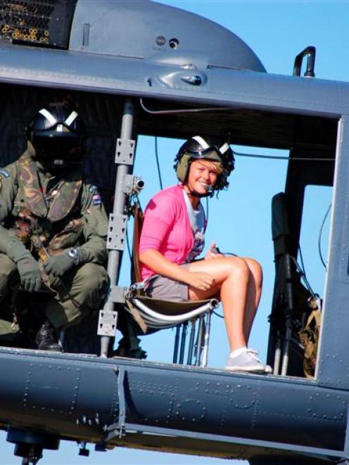 Operation Hero host Dayna Vawdrey. Photo by TVNZ.