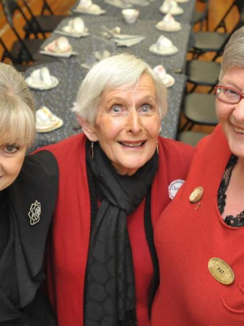 Organisers of the Dunedin Harmony Chorus of Sweet Adelines 25th anniversary celebrations (from...