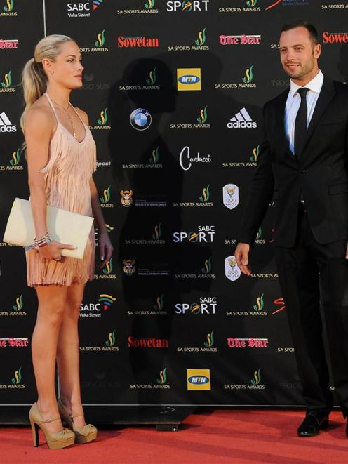 Oscar Pistorius and Reeva Steenkamp, shown in this November file photo, had bene planning a...