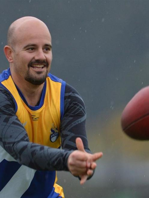 Otago AFL president Michael Bruhn: ''There are a lot of people who haven't played before, so we...