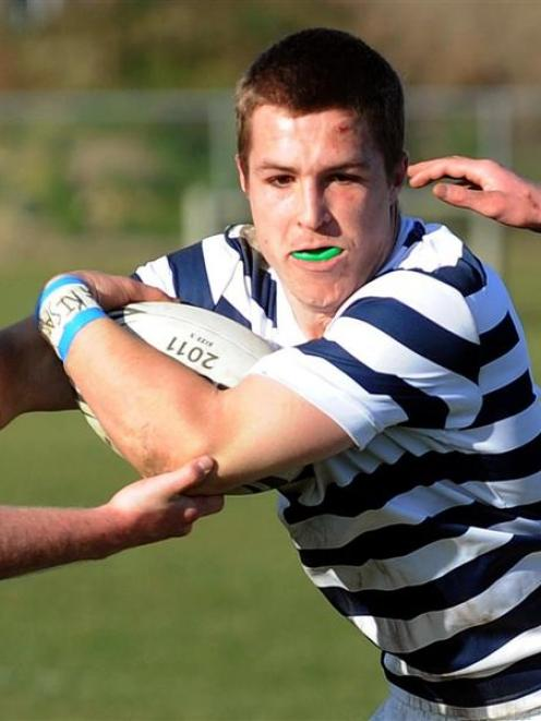 Otago Boys' High School First XV captain Michael Collins has been signed by the Otago union and...
