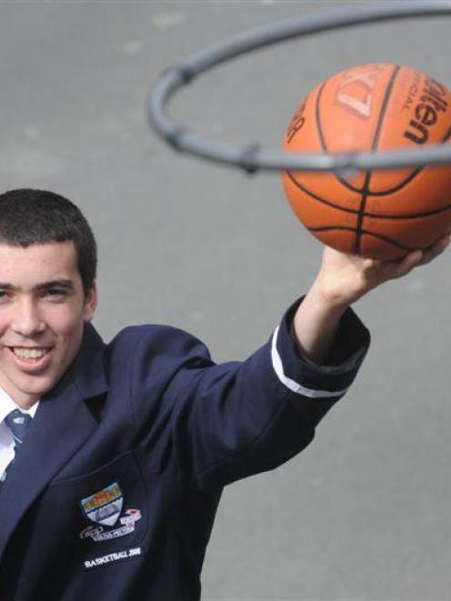 Otago Boys High School year 12 pupil Chris Hood won a bronze medal with the New Zealand under-18...