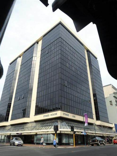 Otago House, on the corner of Moray Pl and Princes St in Dunedin, is A-grade commercial space...