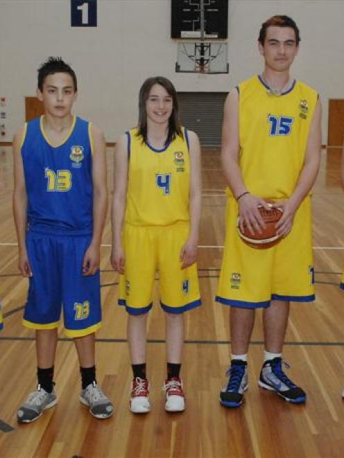 Otago players selected for Koru squads to compete in the 2010 Australian Basketball Cup in New...