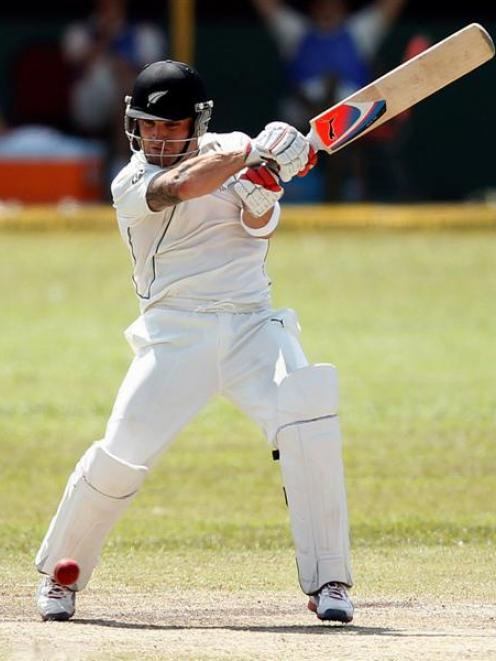 Otago's Brendon McCullum has been named New Zealand cricket captain. REUTERS/Dinuka Liyanawatte
