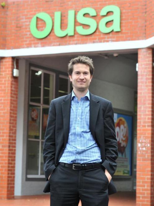 Otago University Students' Association president Paul Hunt hopes to build a sense of community...