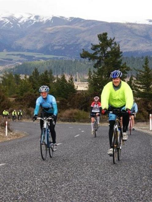 Participants in Warriner's first camp sweat it out in Wanaka last weekend. Photo by Stephen Bradley.