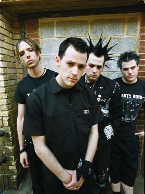 Good Charlotte band members.