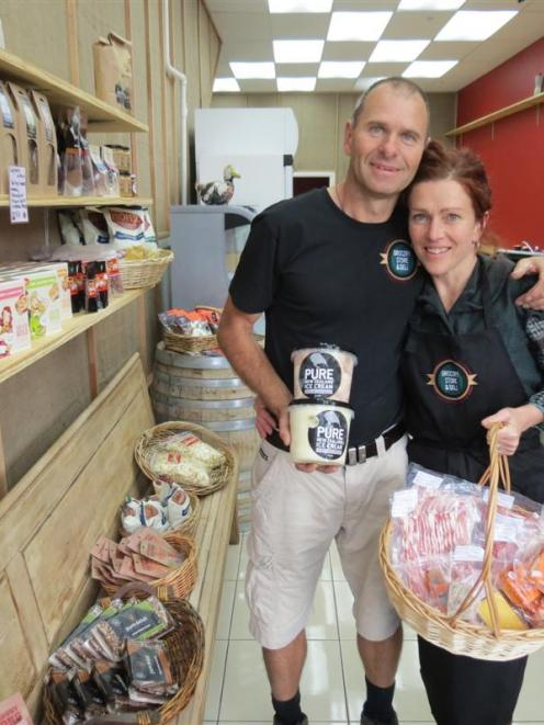 Paul and Nicky Viggers, of Gibbston, fill their shelves with Wakatipu and New Zealand artisan...