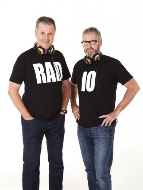 Paul Ego (left) and Jeremy Corbett team up for The Radio. Photo supplied.