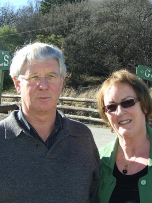Peter and Elaine Herbert, of Wanaka, have strong historical links with Lawrence and want other...