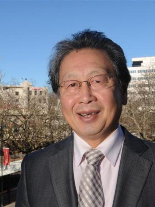 Peter Chin is citing the city council's achievements as he seeks endorsement of his mayoralty....